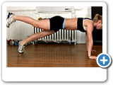 Fitness - Burpee's and Push Ups Exercise